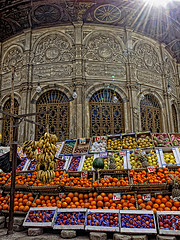 cairo fruit stall