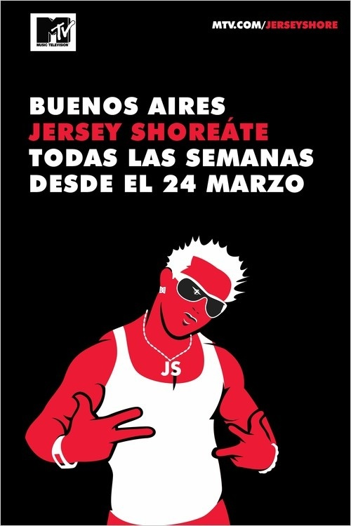 jersey shore buenos aires ad
